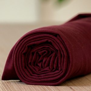 Bordeaux Tencel Meet Milk - Maroon Tencel Stretch Jersey Biologische Tencel