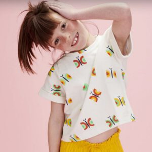 Vlinder Lily Balou - Butterflies sweat Biologische French terry
