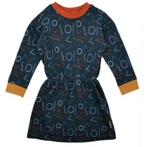 Vormen Baba Babywear - Shaded forms Biologische Sweat